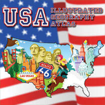USA - Illustrated Geography Atlas